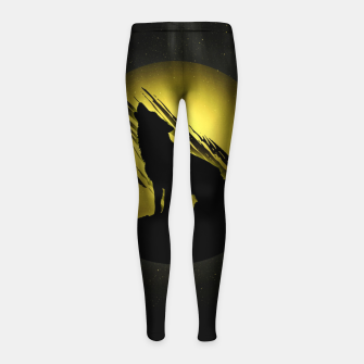 Miniature de image de Wolf with Golden Moon Kinder-Leggins, Live Heroes