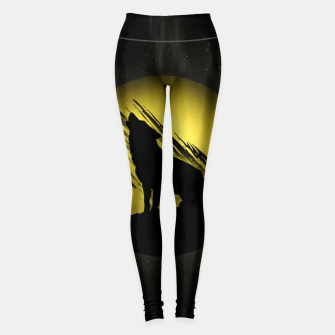 Miniature de image de Wolf with Golden Moon Leggings, Live Heroes