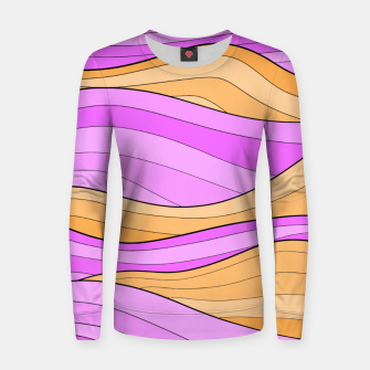 Thumbnail image of The Pink Sea Waves Women sweater, Live Heroes