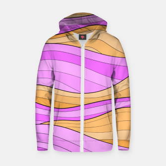 Thumbnail image of The Pink Sea Waves Zip up hoodie, Live Heroes
