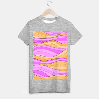 Thumbnail image of The Pink Sea Waves T-shirt regular, Live Heroes