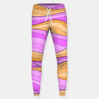 Thumbnail image of The Pink Sea Waves Sweatpants, Live Heroes