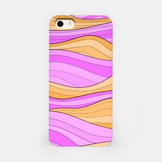 Miniaturka The Pink Sea Waves iPhone Case, Live Heroes