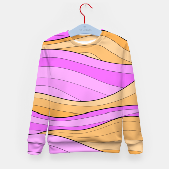 Thumbnail image of The Pink Sea Waves Kid's sweater, Live Heroes