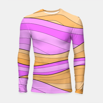 Thumbnail image of The Pink Sea Waves Longsleeve rashguard , Live Heroes