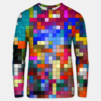 Thumbnail image of COLOURED SQUARED Unisex sweater, Live Heroes