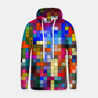 Thumbnail image of COLOURED SQUARED Hoodie, Live Heroes