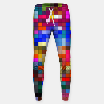 Thumbnail image of COLOURED SQUARED Sweatpants, Live Heroes