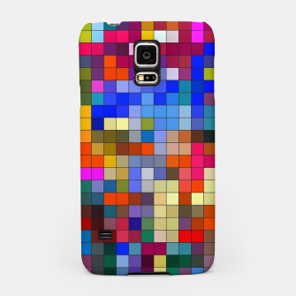 Thumbnail image of COLOURED SQUARED Samsung Case, Live Heroes
