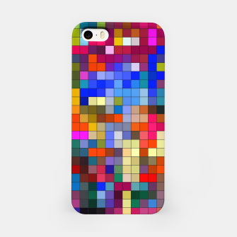 Thumbnail image of COLOURED SQUARED iPhone Case, Live Heroes