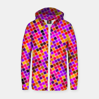 Thumbnail image of COLOUR SQUARED 13 Zip up hoodie, Live Heroes