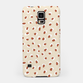 Thumbnail image of Handmade animal-print rust Samsung Case, Live Heroes