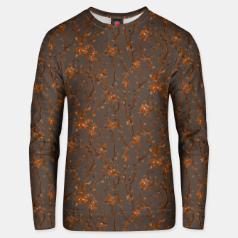 Thumbnail image of Blossoming veins of the orange neon world  Unisex sweater, Live Heroes