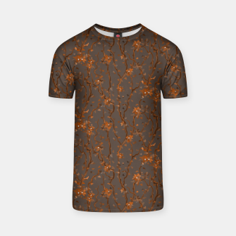 Miniatur Blossoming veins of the orange neon world  T-shirt, Live Heroes