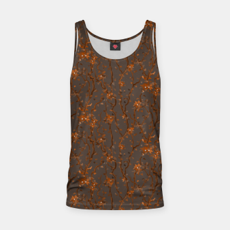 Miniatur Blossoming veins of the orange neon world  Tank Top, Live Heroes