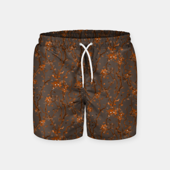 Miniatur Blossoming veins of the orange neon world  Swim Shorts, Live Heroes
