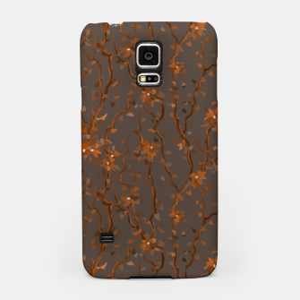 Miniatur Blossoming veins of the orange neon world  Samsung Case, Live Heroes