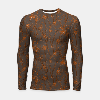 Miniatur Blossoming veins of the orange neon world  Longsleeve rashguard , Live Heroes