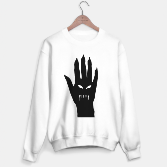 Thumbnail image of Vampire Hand Graphic Drawing Sweater regular, Live Heroes