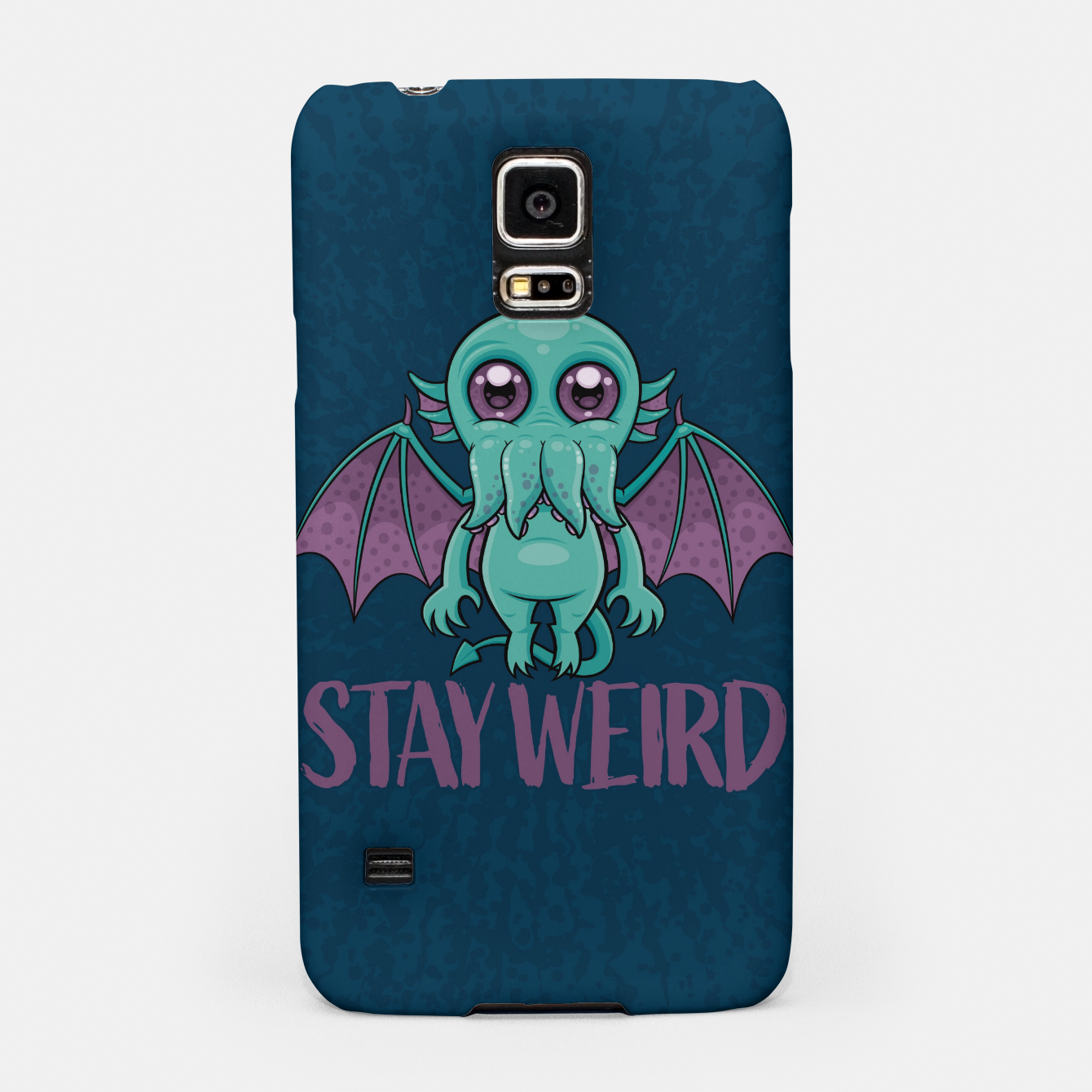 Image of Stay Weird Cute Cthulhu Monster Samsung Case - Live Heroes