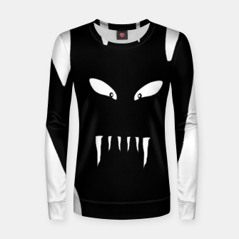 Thumbnail image of Vampire Hand Graphic Drawing Women sweater, Live Heroes