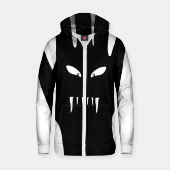 Thumbnail image of Vampire Hand Graphic Drawing Zip up hoodie, Live Heroes