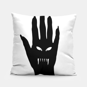 Thumbnail image of Vampire Hand Graphic Drawing Pillow, Live Heroes