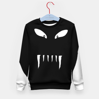 Thumbnail image of Vampire Hand Graphic Drawing Kid's sweater, Live Heroes