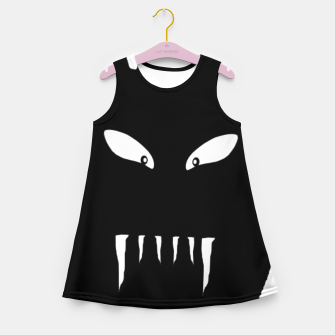 Thumbnail image of Vampire Hand Graphic Drawing Girl's summer dress, Live Heroes