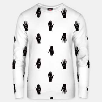Thumbnail image of Vampire Hand Graphic Pattern Unisex sweater, Live Heroes