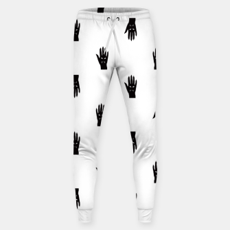 Thumbnail image of Vampire Hand Graphic Pattern Sweatpants, Live Heroes