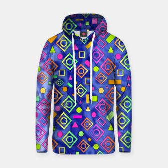 Thumbnail image of Geometric On Blue Hoodie, Live Heroes