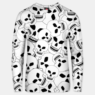 Thumbnail image of Skull Lovers Unisex sweater, Live Heroes