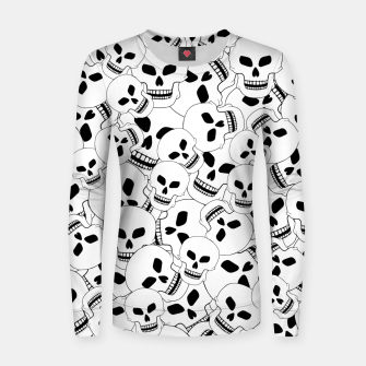 Thumbnail image of Skull Lovers Women sweater, Live Heroes