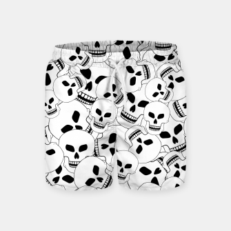 Thumbnail image of Skull Lovers Swim Shorts, Live Heroes