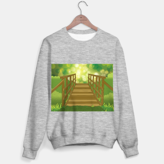 Thumbnail image of Into the Woods Sweater regular, Live Heroes