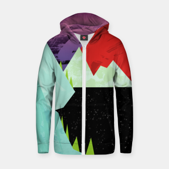 Thumbnail image of The Starry Sea Zip up hoodie, Live Heroes