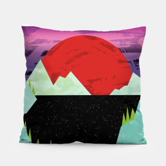 Thumbnail image of The Starry Sea Pillow, Live Heroes