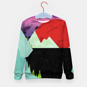 Thumbnail image of The Starry Sea Kid's sweater, Live Heroes