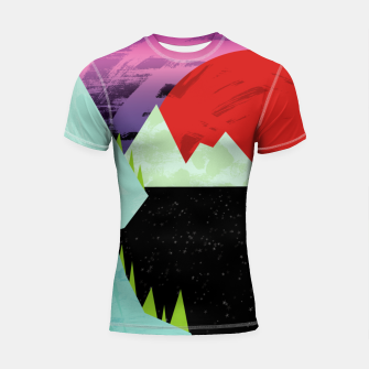 Thumbnail image of The Starry Sea Shortsleeve rashguard, Live Heroes