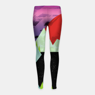 Thumbnail image of The Starry Sea Girl's leggings, Live Heroes