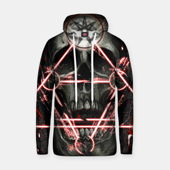 Thumbnail image of Gothic skull Hoodie, Live Heroes