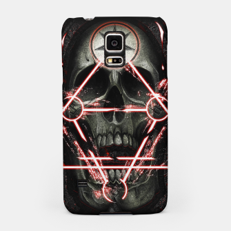 Miniatur Gothic skull Samsung Case, Live Heroes