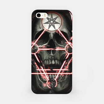 Thumbnail image of Gothic skull iPhone Case, Live Heroes