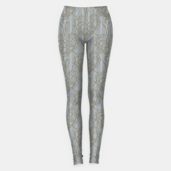 Miniatur The elegant grace of nature: the wild oat Leggings, Live Heroes