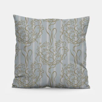 The elegant grace of nature: the wild oat Pillow Bild der Miniatur