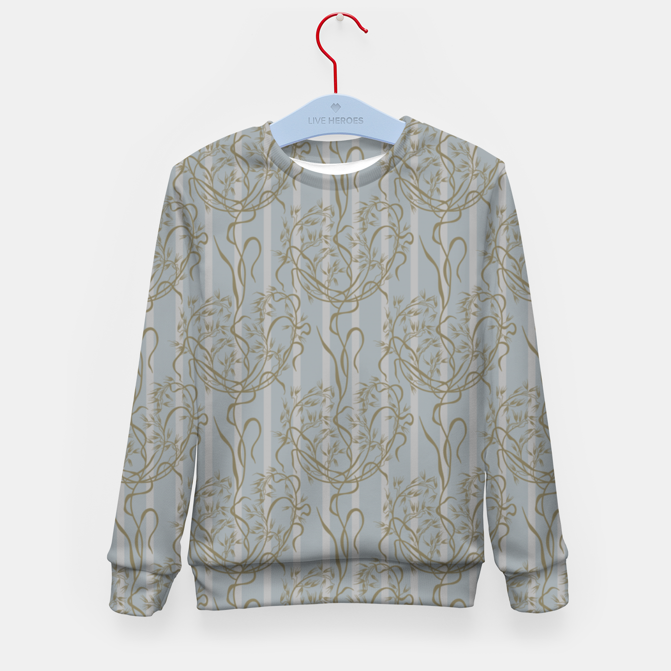 Foto The elegant grace of nature: the wild oat Kid's sweater - Live Heroes