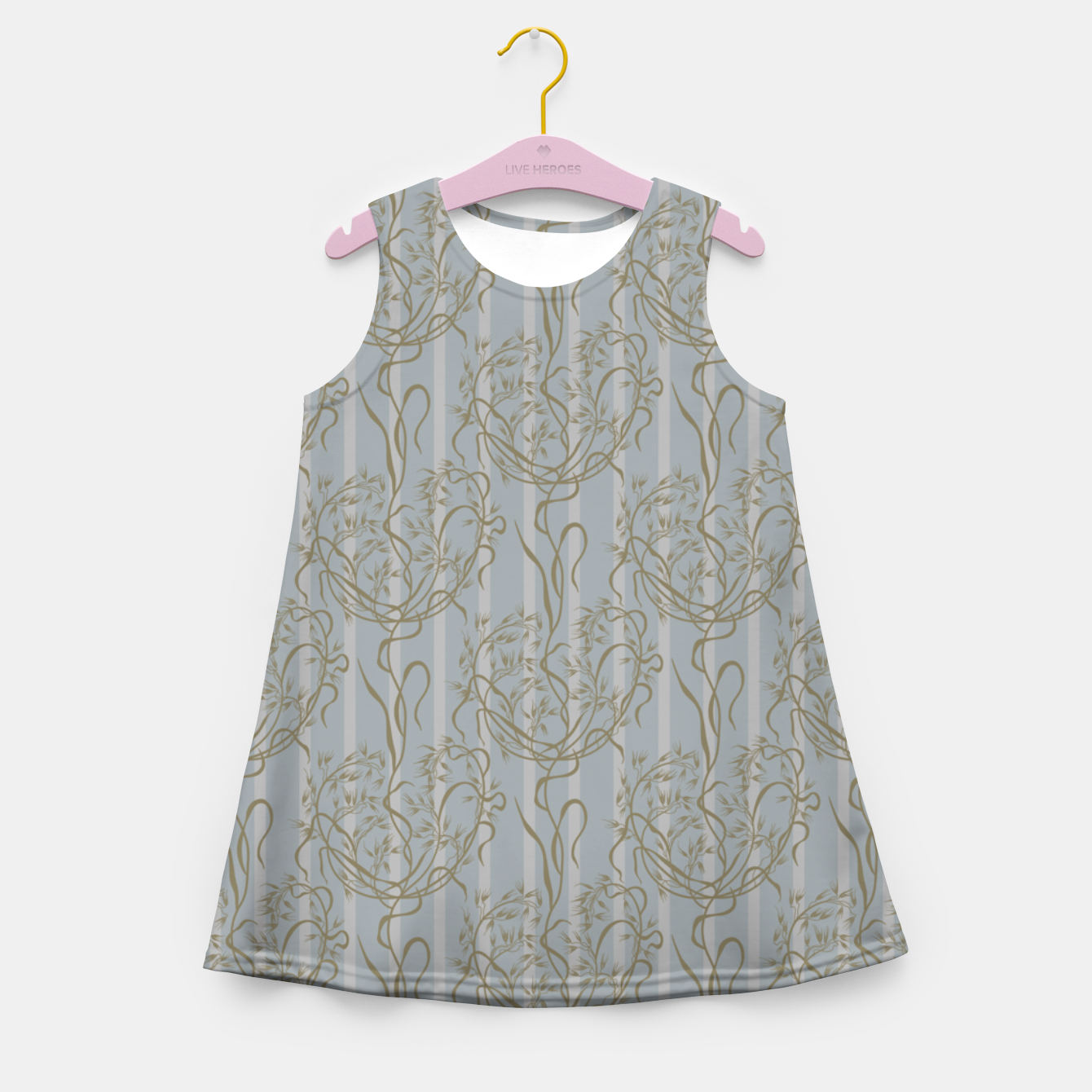 Foto The elegant grace of nature: the wild oat Girl's summer dress - Live Heroes