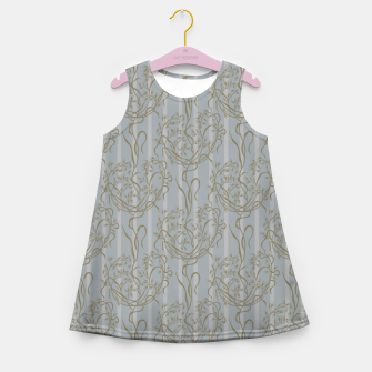Miniatur The elegant grace of nature: the wild oat Girl's summer dress, Live Heroes