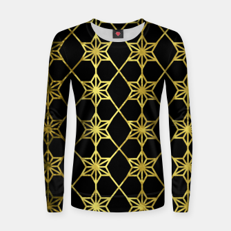 Thumbnail image of Gold Stars Geometric Women sweater, Live Heroes